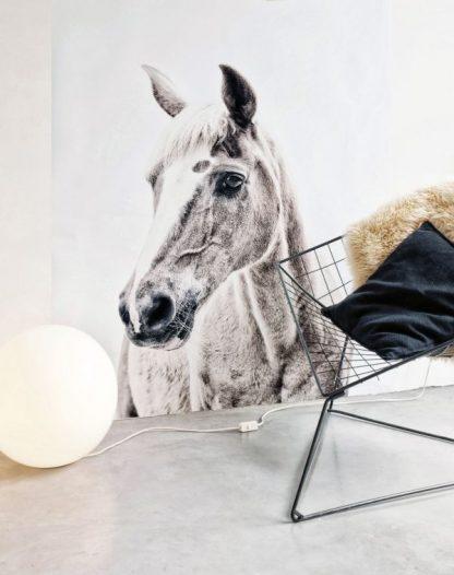 hevostapetti lastenhuoneen sisustus